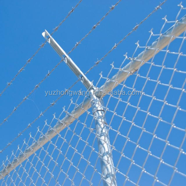 6ft galvanized chain link fencing ironwiremesh fence price