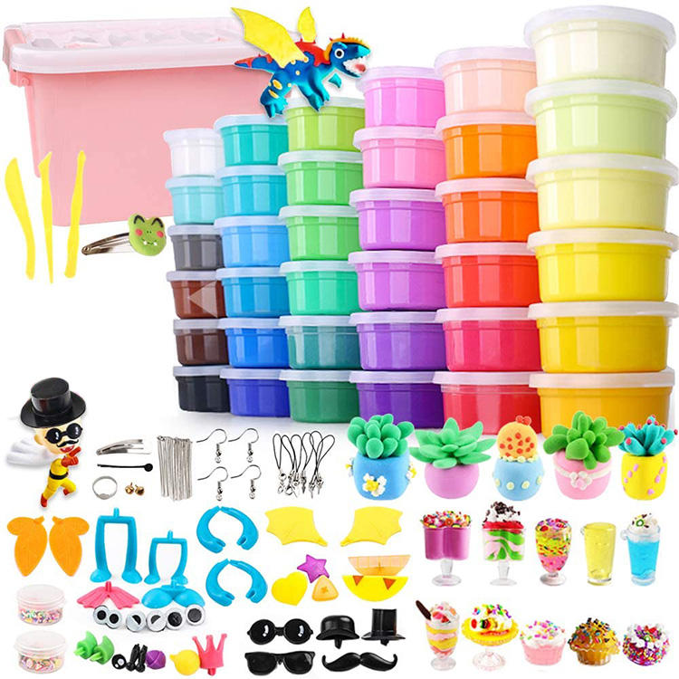 36 Colors Air Dry Clay Modeling Clay, Super Light Clay Set for Kids and Teens with Tools, Creative Art DIY Crafts Clay Dough
