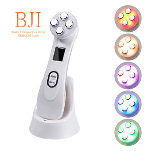 Radio Frequency Facial LED Photon Skin Care Device Face Lifting Tighten Wrinkle Removal Eye Care RF Skin Tightening Machine