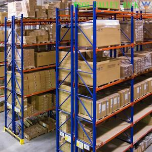 warehouse industrial shelving angle steel heavy duty pallet rack