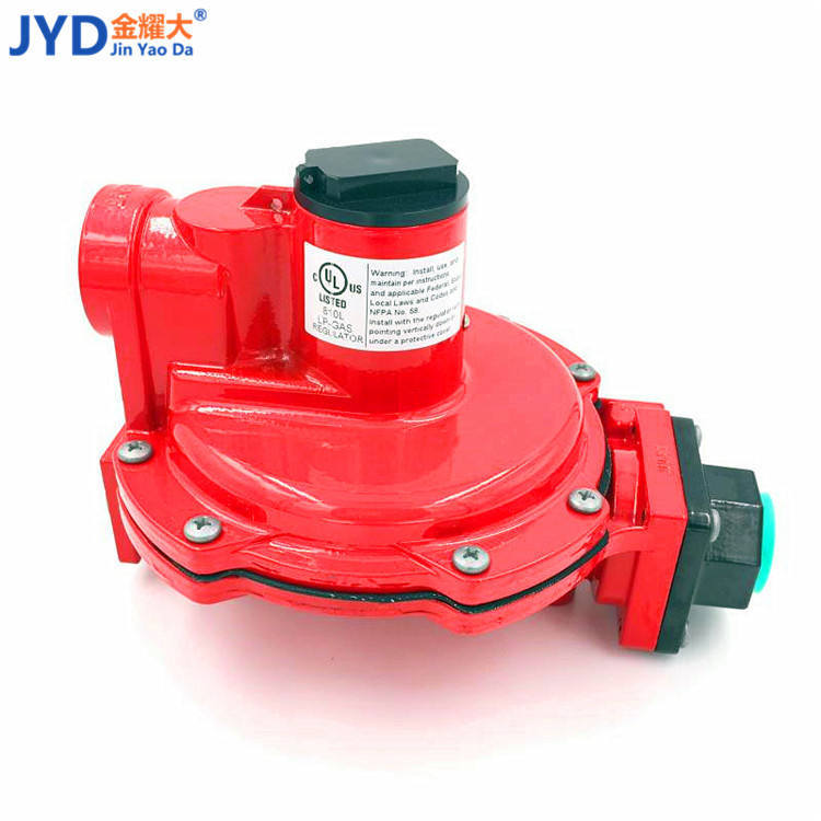 The first stage regulator model LPG gas pressure regulator is used to reduce pressure 3/4 DN20