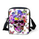 Skull Make on demand Messenger Bag For Girl Cute Casual Cross Body Bag Ladies Spain Women Designer Bolsos Mujer