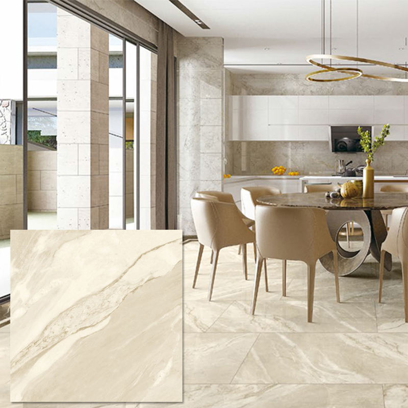 Non-slip Gold Wire Porcelanato Floors Colors Glazed Negative Ion Floor Tiles Marble Home Living Room 600*600 Wall Tiles Borders