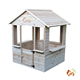 Cedar chinese fir timber wood cubby house wooden outdoor wholesale