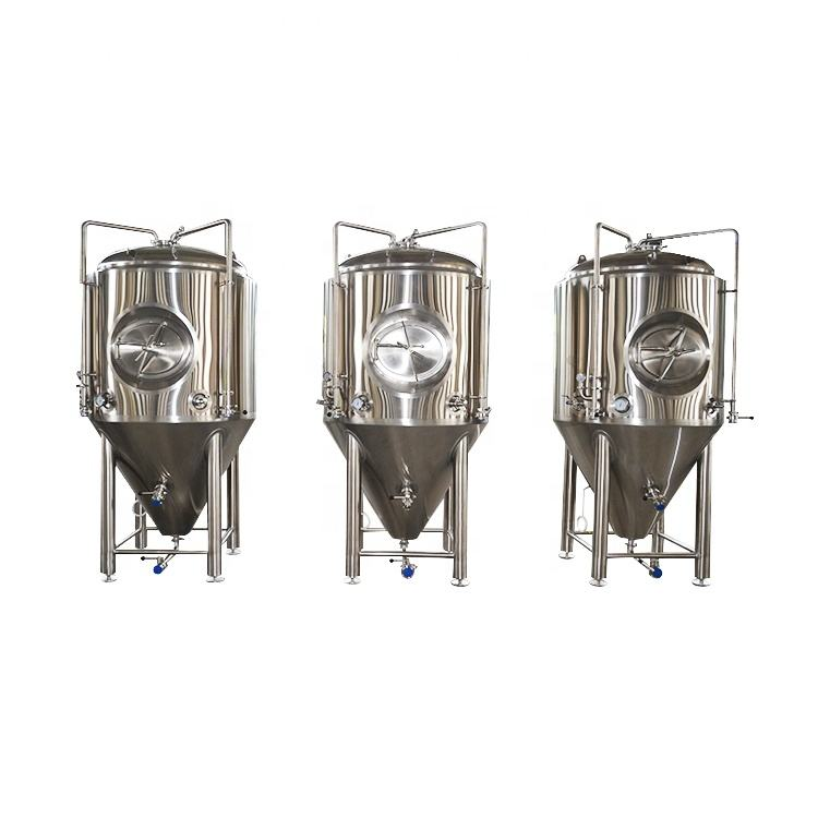 High-Quality Brewery Equipment Stainless Steel 10BBL Conical Fermenter Homebrew