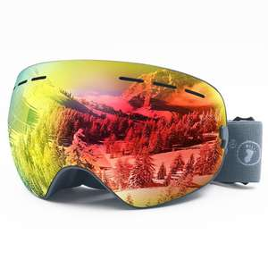 Amazon Hot Seller Goggles Glasses Colorful Snow Goggles Fashion Ski Goggles