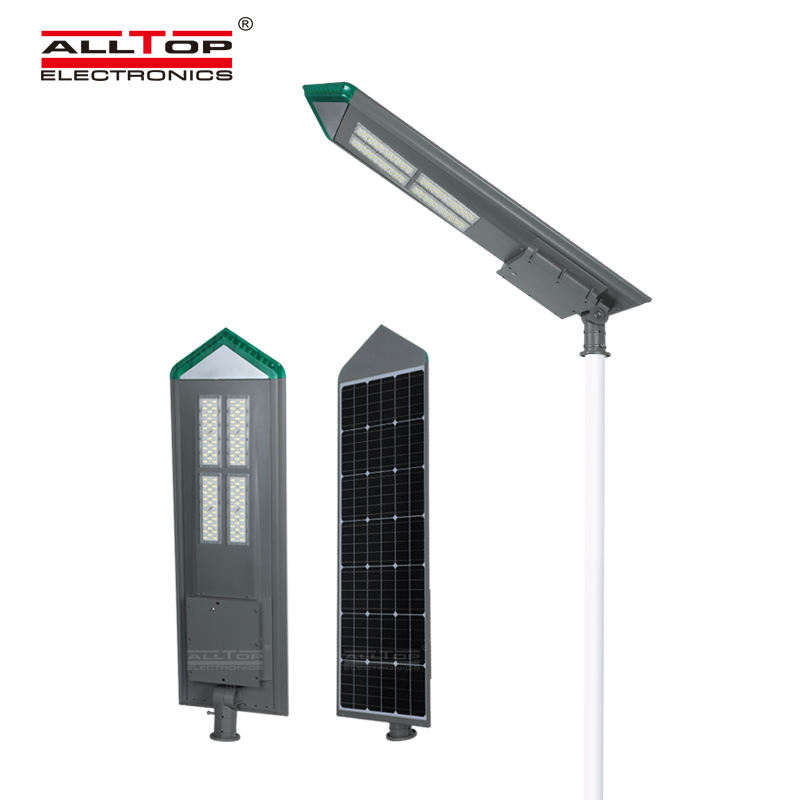 Alltop High Quality Industrial Bridgelux Outdoor Waterproof Ip65 180w Integrated All In One Solar Led Street Light