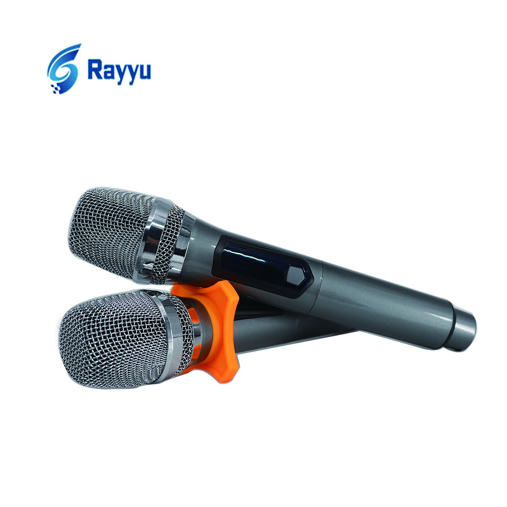 OEM High Quality Wireless Auto Microphone Karaoke System Metal Body Digital Cordless Handheld Mic