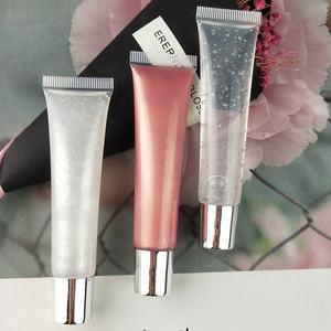 30 Colors Glitter Squeeze Tube Lip Gloss Custom DIY Wholesale Private Label Cosmetic No Brand Lipgloss