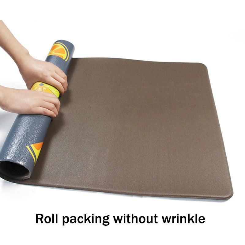 Chef Drying PVC Anti Fatigue Kitchen Mat For Table