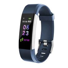 RISE GROUP OEM Custom High Quality heart rate monitor smart watch bracelet fitness tracker