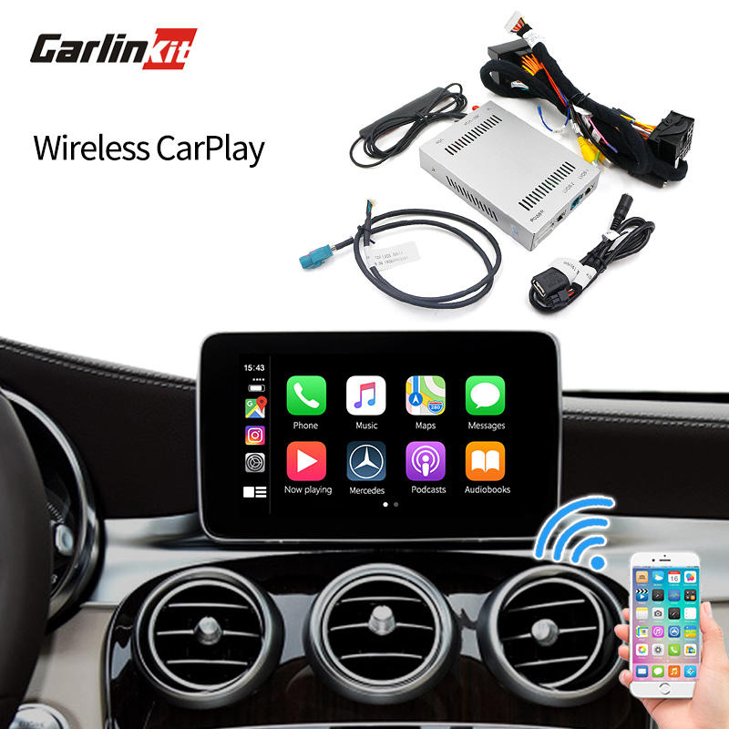 Apple Carplay Android Auto multimedia lvds video interface for Mercedes W205 A/B/C/GLA/GLC 260/300 NTG 4.5 4.7 5.0