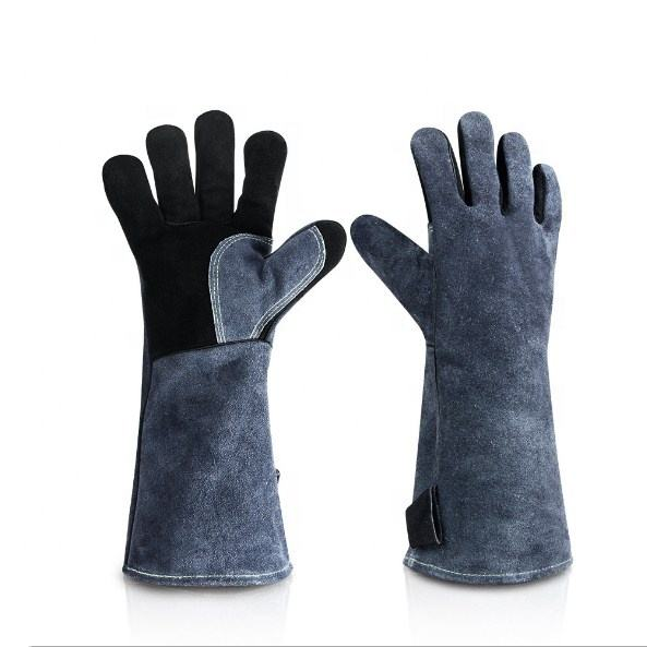 Ozero Customized Logo CE Certificate Heat Resistant Grillhandschuhe Oven BBQ Gants Barbecue Grill Gloves .