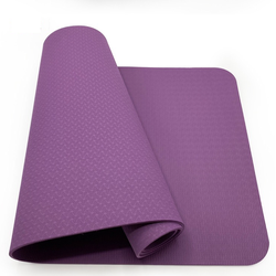 Wholesale Home Gym Fitness Equipment Eco Friendly TPE Cheap Non Slip Yoga Mat
