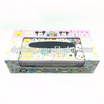 Factory top metal Rectangular Gift Box paper tin for gift