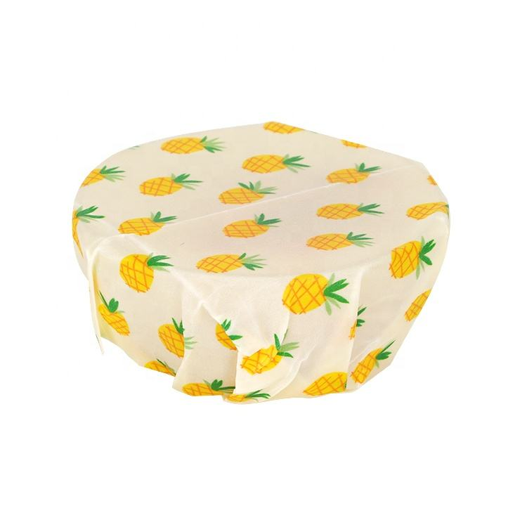 Sustainable Biodegradable Food Packaging Reusable Lunch Vegan Wrap Beeswax Wraps Private Label