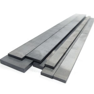 Blank tungsten carbide wear strips carbide square bars carbide flat bar for wood working
