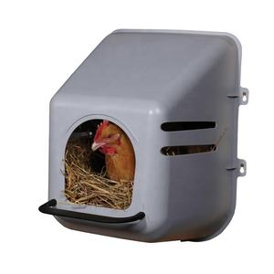 Wholesale Price Easy Clean Hen Laying Eggs Plastic Chicken Nest Mobile Chicken Coop Chicken House/