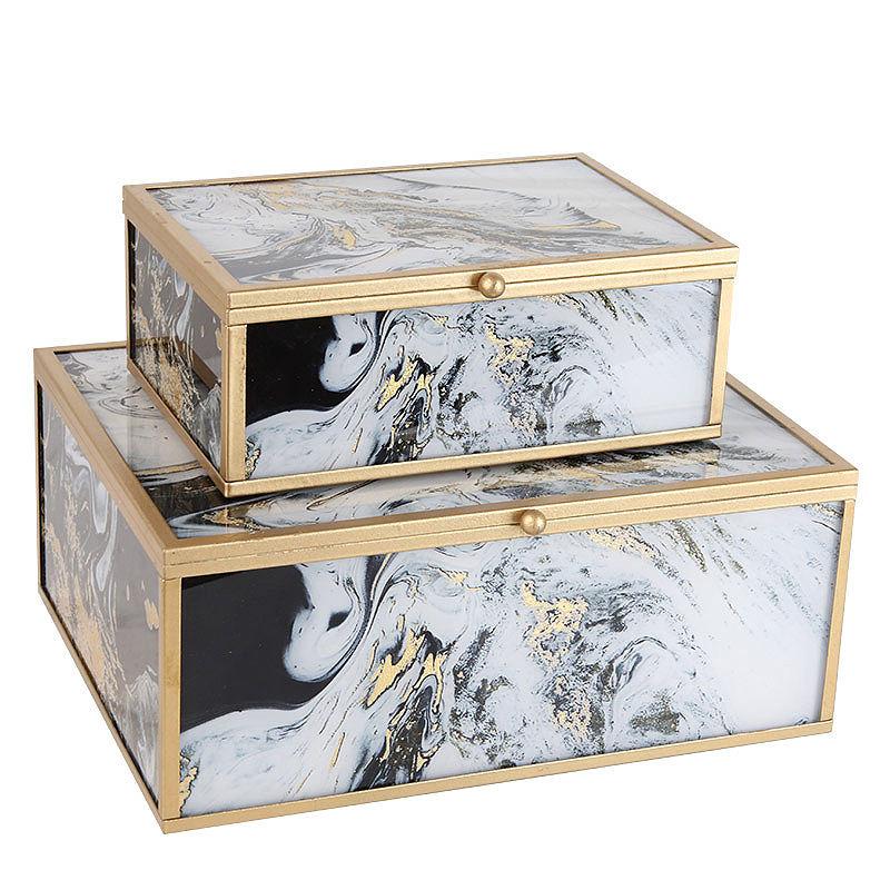 Декор дома Современная гостиная декоративные элементы элегантный ящик для хранения