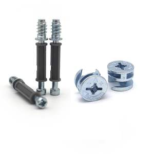Furniture Hardware Fastener Connecting Joint Bolt Fitting Minifix Dowel Eccentric Cam