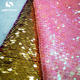 Two Tone 5mm Reversible Table Cloth Sequin Color Mesh Dress Embroidery Fabric
