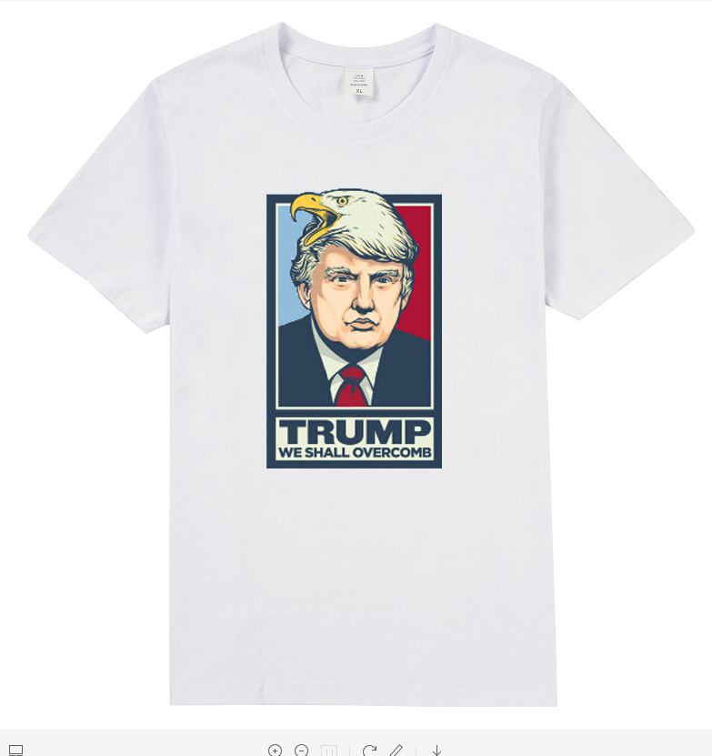 Factory Direct Sales 2020 Hot Style Printing Customized Personalized Election T Shirt Men clothes