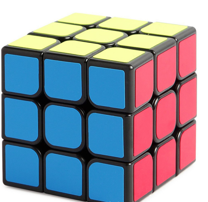 Top quality rubikes cube magic cube 3*3*3 for brain training