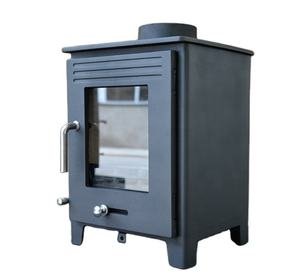 New Design Cubic Steel Stove Real Fire Wood Stove