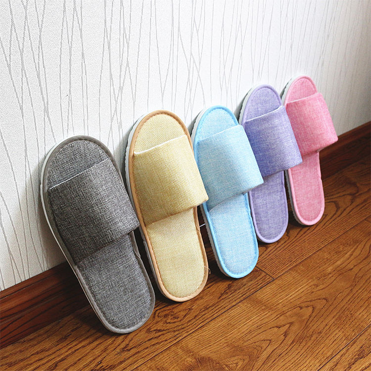 Wholesale Custom Eco Friendly Hotel Slipper Disposable Indoor Bathroom Spa Slipper Eva Hotel Slipper