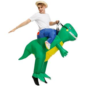Amazon best sale inflatable riding costume inflatable walking dinosaur mascot costumes for adult children