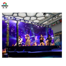 Nova control hanging bar p3.91 indoor rental stage background led display big screen