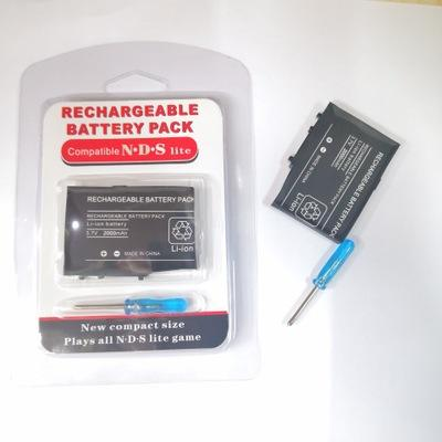 Rechargeable Replacement Charge Kit Rechargeable Lithium Battery 2000 Battery Pack Power SupplyためNDS 3.7V 2000mAh