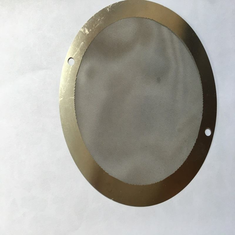 china ISO 9001 Factory High Precision Photo Chemical Etching Stainless Steel Filter Mesh Sieve Screen