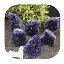 Hengmei minerals natural Druzy quartz cave  Amethyst cluster Geode for spiritual gifts wholesale