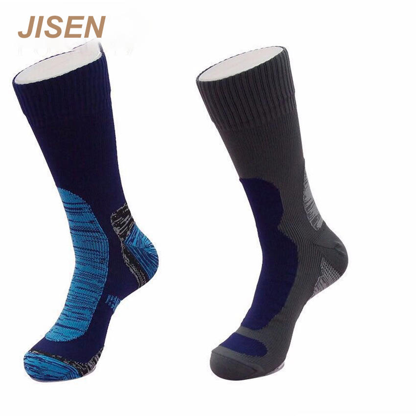 Dropshiping Unisex Certified Crew Size Waterproof Breathable Socks Water Proof Socks for Hiking in Water