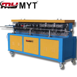 MYT HVAC galvanized sheet metal air duct tdf flange roll forming machine for ventilation industry