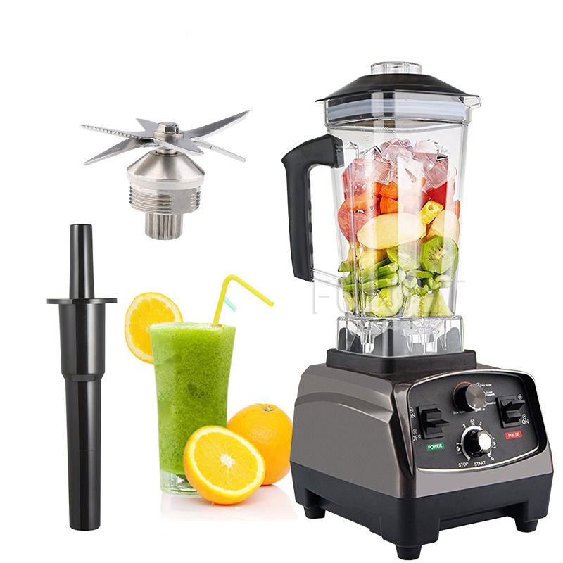 Heavy duty commercial pharmaceutical juicer mixer blender plastic food processor