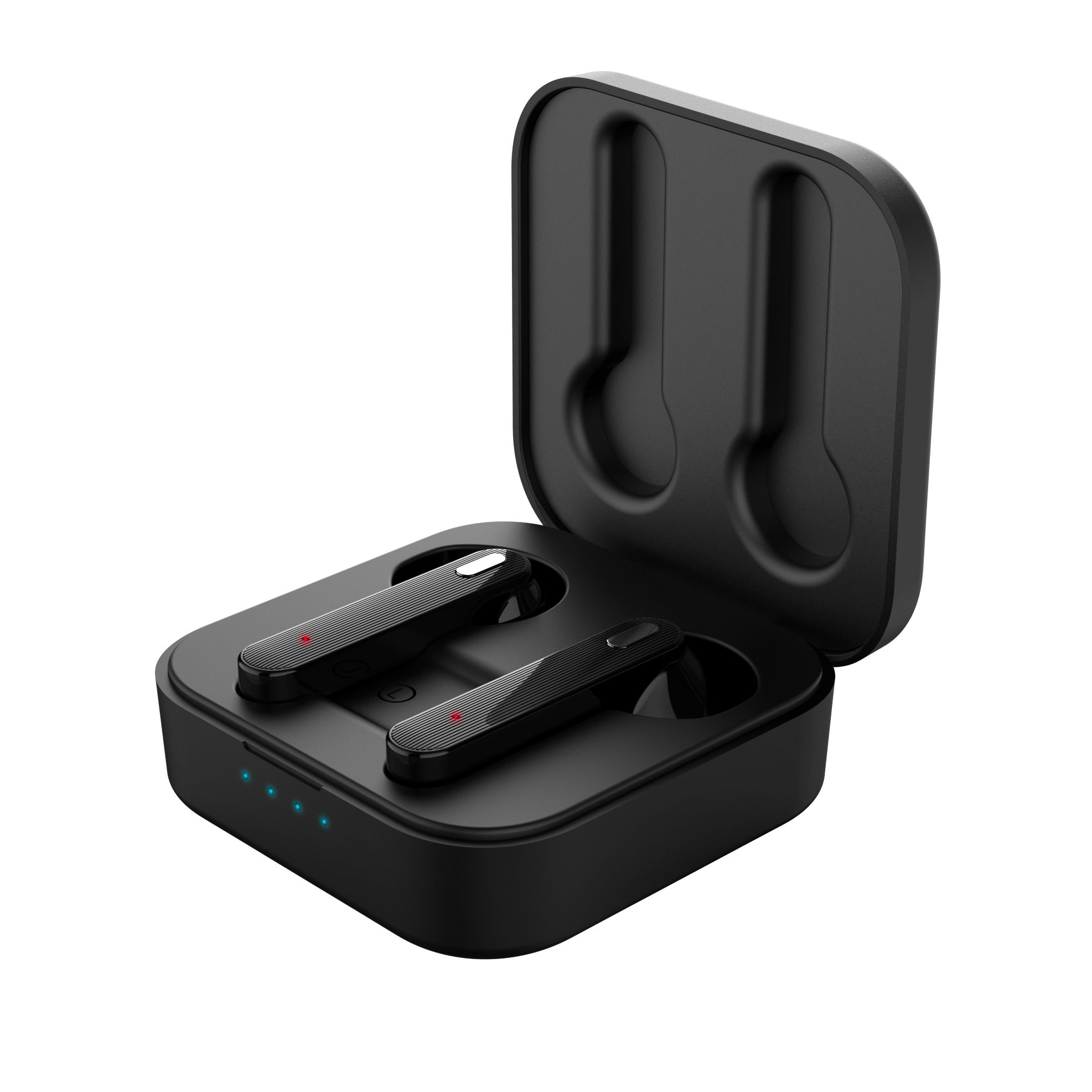 square charging charge box tws earbuds air ear phone headphone mini wireless Realtek bluetooth earpiece