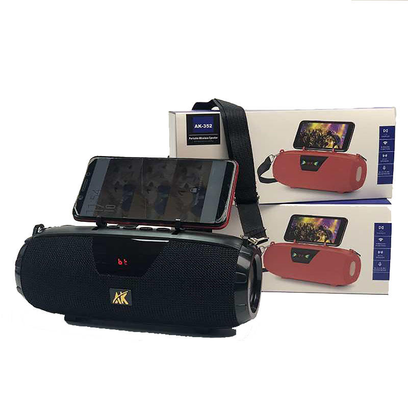 Portable Wireless Support TF Card Outdoor Electronics Gadgets Fabric Straps Blue Tooth Speaker Radio Player With Mobile Holder