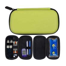 New EVA Portable Insulated Carrying Bag High Quality Medical Travel Cooler Insulin Case