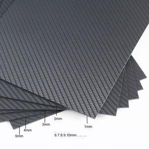 SW Professional 3k twill 2mm 4mm carbon fiber plate decoration fiber sheets