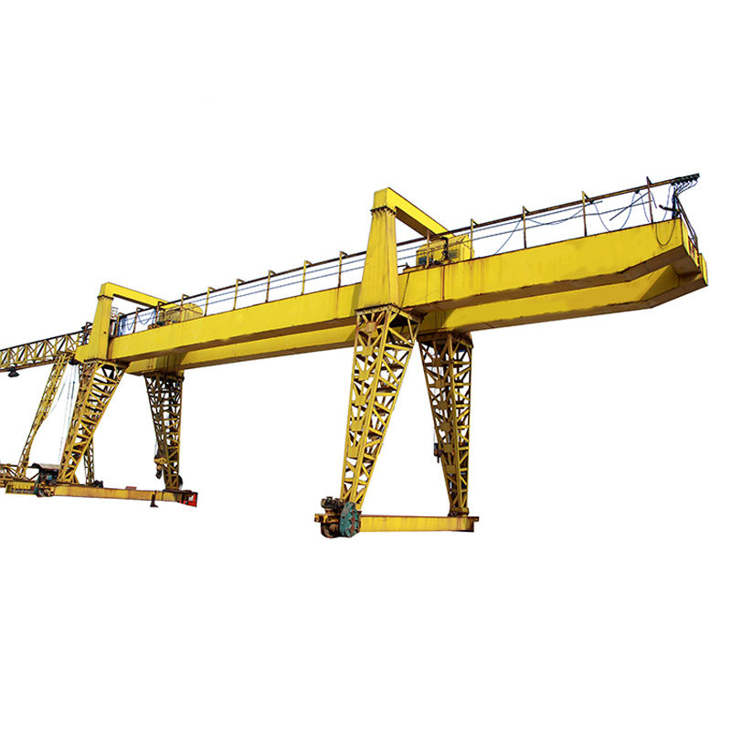 Ali baba new products 20t container mobile double girder gantry crane for project