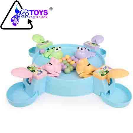 Feed small frog swallow bead to rob to eat beans recreational parent-child board game children puzzle toys