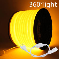 Neon LED Strip 360 Round AC 220V 230V 240V Flexible Neon Lig