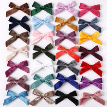 Hot sell Kids hair bows Baby hair clips velvet bow clips for Kids Hair dressing