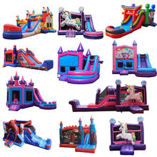 outdoor Bouncy Air Jumper commercial grade inflatable bounce castle for sale