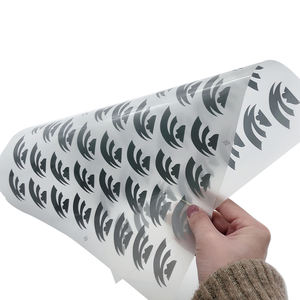 Wholesale high visibility reflective heat transfer sticker printing reflective iron on for t shirt