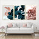 Nordic Poster Living Room Leaf Floral Picture Wall Art Canvas Painting Botanical posters and prints