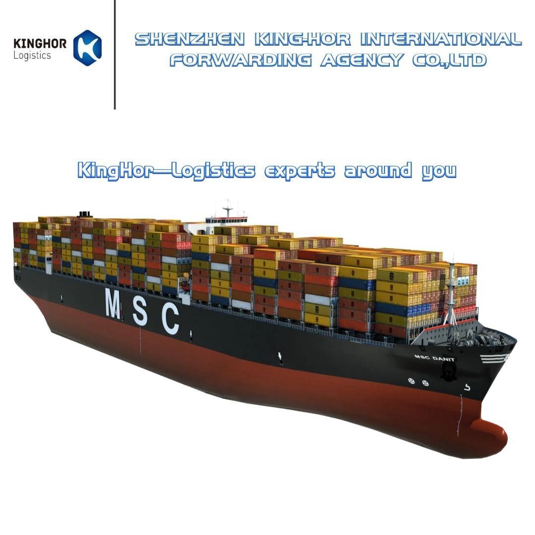 International logistics KingHor company provide free samples shipping door to door to worldwide