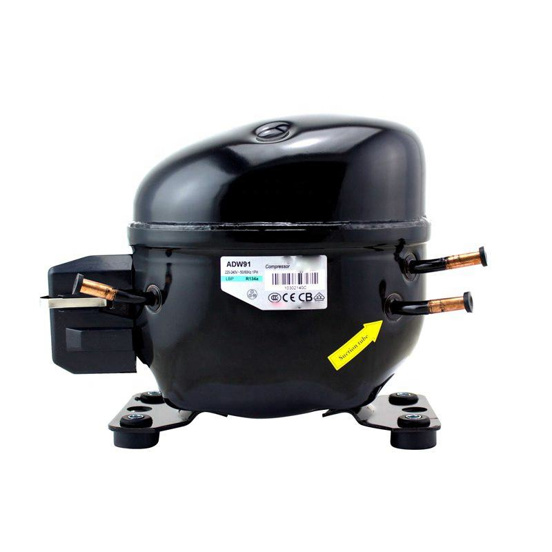 Refrigerator parts R134a Series ADW91 refrigeration compressor for refrigerator high quality